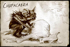 The feared and legendary chupacabra of Puerto Rico and the wider Caribbean